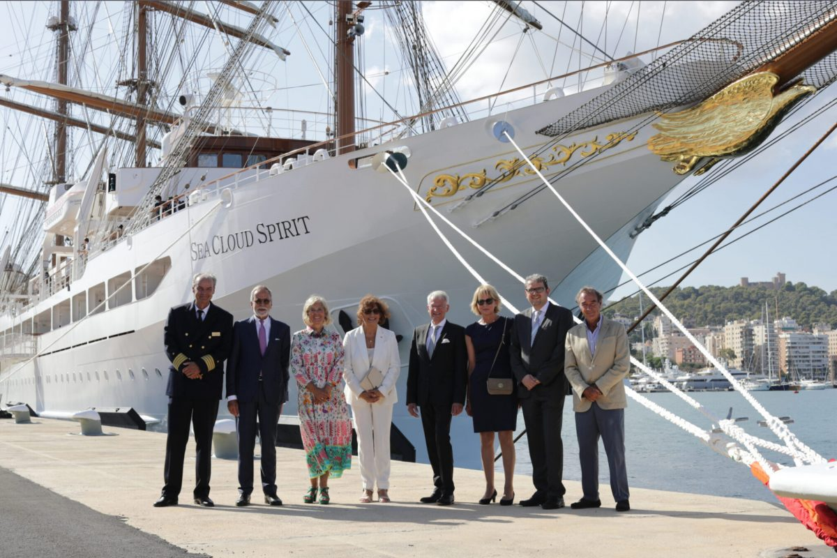 Sea Cloud Spirit Is christened and ready to cruise